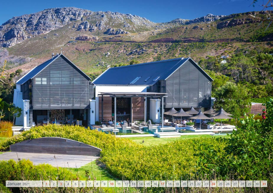 Kalender Weingüter Südafrikas - Steenberg