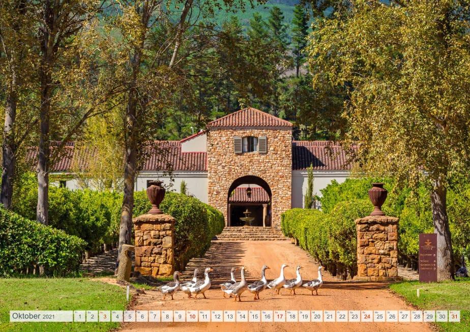 Kalender Weingüter Südafrikas - Waterford